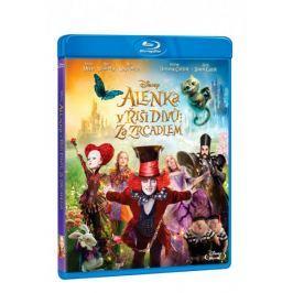 Alenka v říši divů: Za zrcadlem   - Blu-ray