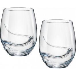 Crystalex sklenice Turbulence 500 ml, 2 ks