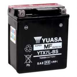 Yuasa baterie  12V 6Ah YTX7L-BS (dodáváno s kyselinovou náplní)