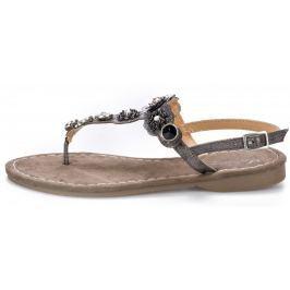 Mustang dámské sandály 36 hnědá