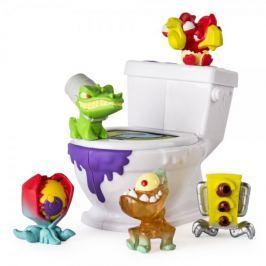 Spin Master Flush Force 4 figurky + záchod