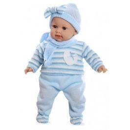 Arias Plačící miminko v modrých šatech