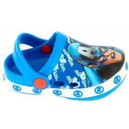 Disney by Arnetta chlapecké sandály Avengers 22,5 modrá