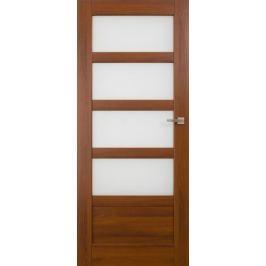 VASCO DOORS Interiérové dveře BRAGA kombinované, model 5, Dub riviera, B