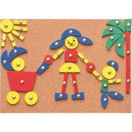 Woody Deska s přibíjecími tvary