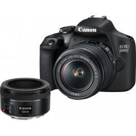 Canon EOS 2000D + 18-55 IS + 50/1,8 (2728C022) - II. jakost