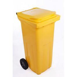 J.A.D. TOOLS popelnice 240 l žlutá plastová