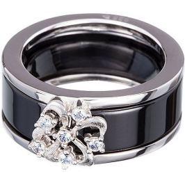 Preciosa Stříbrný prsten Novel Black 5151 20 (Obvod 60 mm) stříbro 925/1000