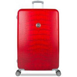 SuitSuit Cestovní kufr Red Diamond Crocodile L
