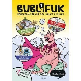 Smolíková Klára: Bublifuk 1 - Komiksová revue pro holky a kluky