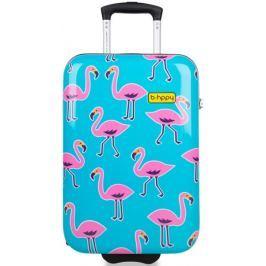 REAbags Cestovní kufr B.HPPY Go Flamingo