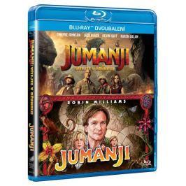 Jumanji kolekce:  Jumanji (1995) + Jumanji: Vítejte v džungli (2BD)   - Blu-ray
