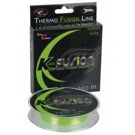 Iron Claw šňůra  K-Fusion 250 m green 0,13mm, 7,5 kg