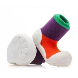 Attipas dívčí botičky Together Purple 19 fialová