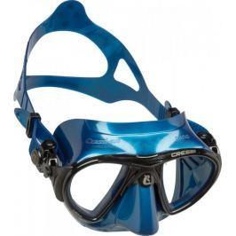 Cressi Maska NANO BLACK, potápěčské brýle, modrá