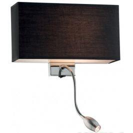 Ideal Lux Nástěnné svítidlo Hotel, černé - II. jakost