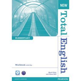 Hall Diane: New Total English Elementary Workbook with Key and Audio CD Pack