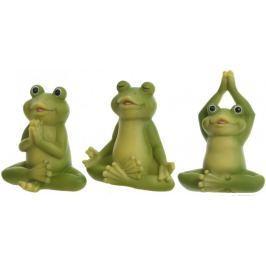 Kaemingk Figurka žába set 3 ks