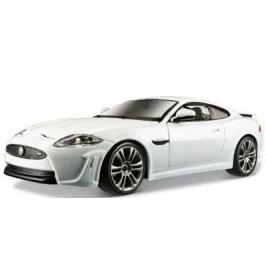 BBurago PLUS Jaguar XKR-S (1:24) - bílý