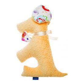 CuddlyZOO Dog Toy žlutá