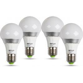 Retlux REL žárovka LED A60 5W E27 4 ks