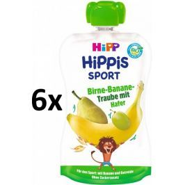 HiPP BIO Sport Hruška-Banán-Bíle hrozno-Oves 6 x 120 g