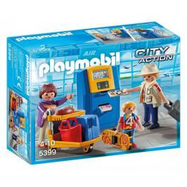 Playmobil 5399 Rodina u check-in kiosku