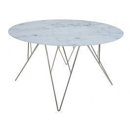 Design Scandinavia Konferenční stolek Stark, 80 cm, sklo