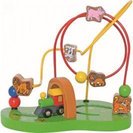 Woody Motorický labyrint Mašinka