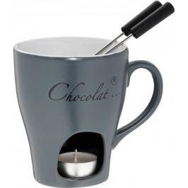 Kela Fondue čokoládové ALMA 3 ks, šedá