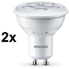 Philips LED bodová 4,5 W teplá bílá, 2 ks