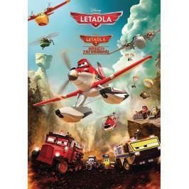 Disney Walt: Letadla 1 a 2 - Hasiči a záchranáři - Filmový příběh