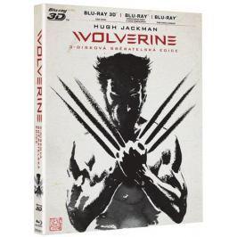 The Wolverine  2D+3D+2D prodloužená verze (3BD)   - Blu-ray