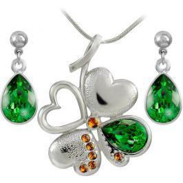 MHM Souprava šperků Lili Fern Green 34220