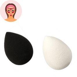 Sefiros Houbička na make-up Black & White (Make-up Blender) 1 ks (Varianta bílý)