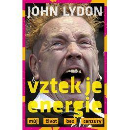 Lydon John: Vztek je energie - Můj život bez cenzury