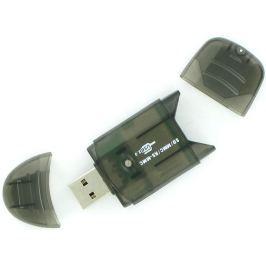 4World přenosná čtečka karet SDHC USB 2.0