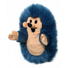 MÚ Brno Ježek 23 cm maňásek, modrý