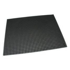 Černá gumová čistící venkovní vstupní rohož Octomat Mini - 100 x 100 x 1,4 cm