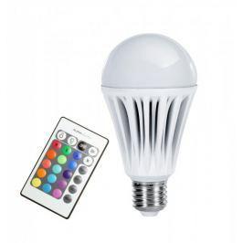 Technaxx LED žárovka RGB E27 10W, bílá, dálkové ovládání