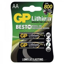 GP Lithium, lithiová AA, 2 ks
