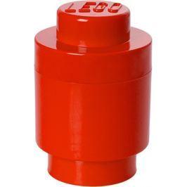 LEGO Úložný box kulatý ø12 x 18 cm červená