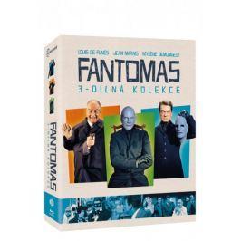 Kolekce Fantomas (3BD)   - Blu-ray
