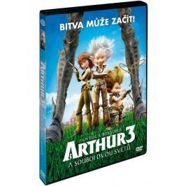 Arthur a souboj dvou světů    - DVD