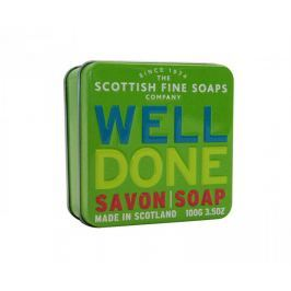 Scottish Fine Soap Mýdlo v plechu Dobrá práce 100 g