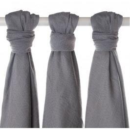 XKKO Bambusové pleny 70x70cm - 3ks - Silver