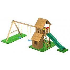 CUBS Honza 7 - věž s dvojhoupačkou a domečkem