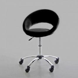 Design Scandinavia Kancelářská židle na kolečkách Sunny černá