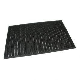 FLOMAT Gumová vstupní čistící děrovaná rohož Waves - 150 x 90 x 1,2 cm