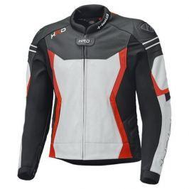 Held pánská bunda STREET 3.0 černá/bílá/červená vel.48, kůže